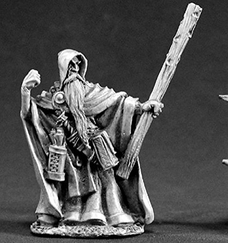 Reaper Vistaril Quillscratch, Wizard Miniatures