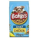 Bakers Adult Dry Dog Food Chicken & Veg 14kg