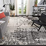 Safavieh Retro Collection RET2139-7980 Modern Abstract Light Grey and Grey Area Rug (4' x 6')