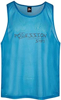 Kids Sports Pinnies w/Free eGuide for Coaches - Training Vests Scrimmage Bibs from Pozession