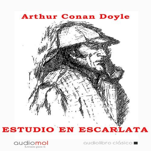 Estudio en escarlata [A Study in Scarlet] audiobook cover art