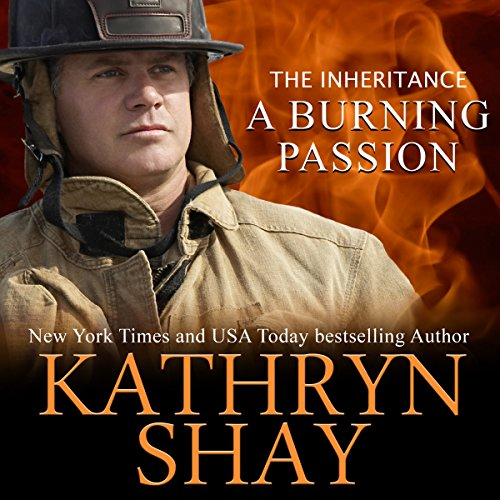 A Burning Passion - The Inheritance audiobook cover art