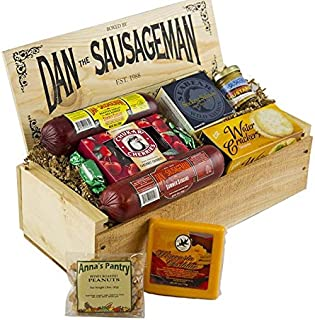 Premium Meat and Cheese Gift Set | Great Gift for Holidays, Birthdays, or Father's Day