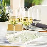Spiegelau & Nachtmann, 4-teiliges Weißweinglas-Set, Kristallglas, 440 ml, Style, 4670182 - 2