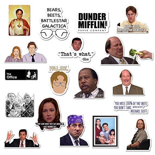 The Office Sticker Pack of 15 Stickers