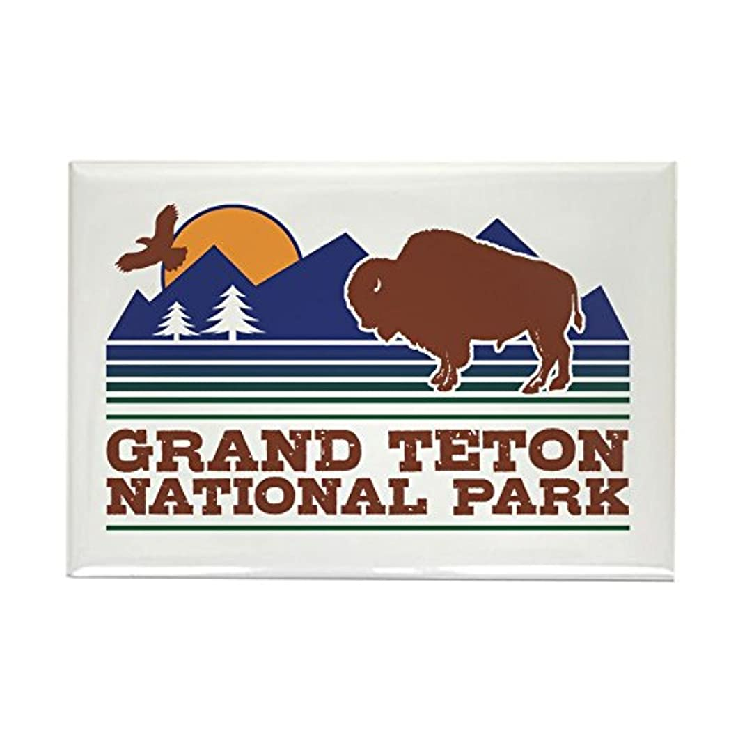 CafePress Grand Teton National Park Rectangle Magnet, 2
