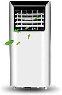 JCOCO Aire Acondicionado portátil con Manguera de Escape/deshumidificador/Ventilador, Enfriador de Aire autónomo de Punto, Dos velocidades, con Control Remoto y Ruedas