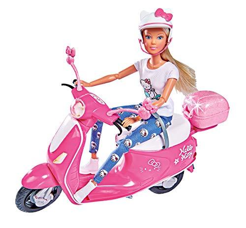 Simba 109283024 Hello Kitty Steffi Love Scooter, Mehrfarbig