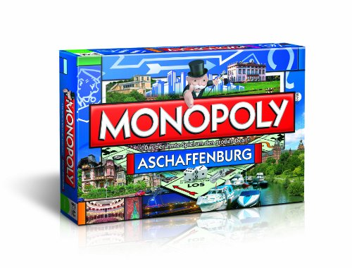 Winning Moves 41184 - Monopoly Aschaffenburg