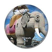 マーゲートシティニュージャージー米国冷蔵庫マグネットホワイトボードマグネットオフィスキッチンデコレーション