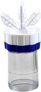 republeNueva lente de contacto manual limpiador arandela limpieza lentes caso herramienta