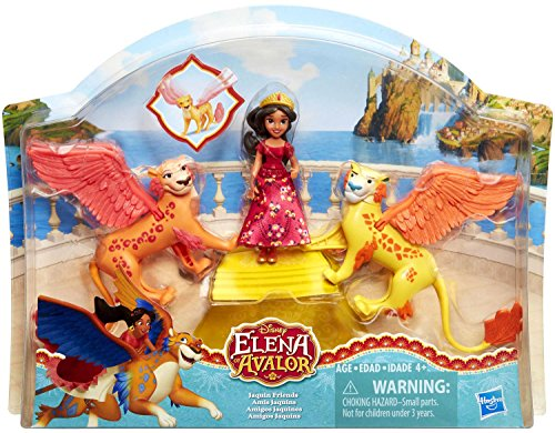 Disney Junior Elena of Avalor Jaquin Friends 3-Pack