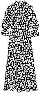 SNIDEL 露背露肩印花连衣裙 SWFO215033 女士