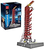 Technik Aerospace Series Assembly Model, 3586 Piezas Apollo Launch Pad Building Block, 3586 Piezas, Compatible con Lego 21309