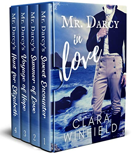 Mr. Darcy In Love: Books 1-4 Complete Series (Danger and Darcy) by [Clara Winfield]