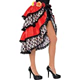 AMSCAN Tie-On Day of the Dead Bustle Costume Accessory for Women, One Size