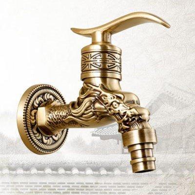 GFEI le cuivre seule eau froide / rétro bouche machine petit robinet mop piscine balcon,un