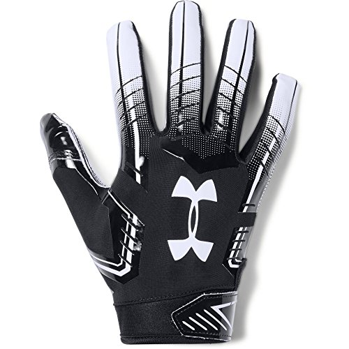 Under Armour mens F6 Football Gloves Black...