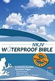 Waterproof Bible - NKJV - Blue