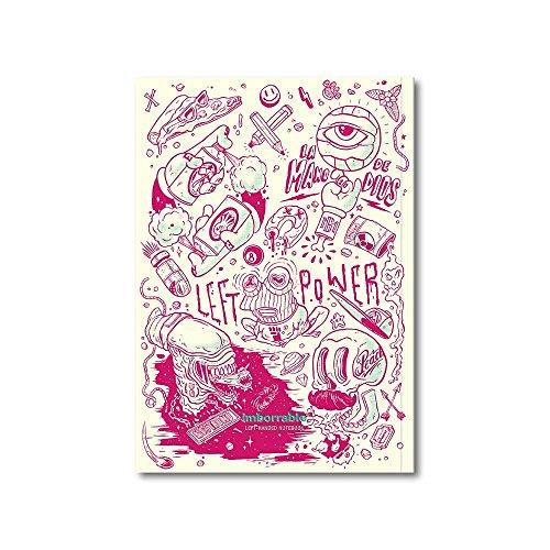 Imborrable Malmö - Cuaderno para zurdos, 144 páginas, A5, 14.8 x 21 cm