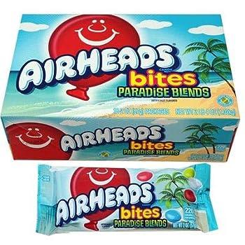 Airheads Bites Paradise Blends  18 Bags