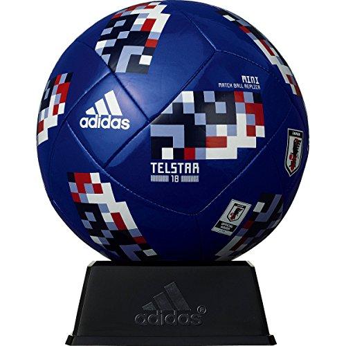 adidas(アディダス) サッカーボール レプリカ ミニモデル(直径約15cm) 2018年 FIFAワールドカップ 試合球 置き台・化粧箱付き テルスター18 AFM1301JP 青