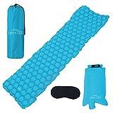 Dryzle Inflatable Lightweight Sleeping Pad -...