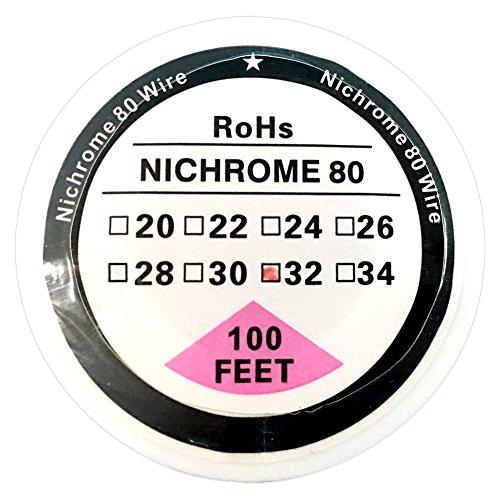 26/AWG//0,40/mm/ /10/m UD youde Bobine de fil en nickel pur ni200