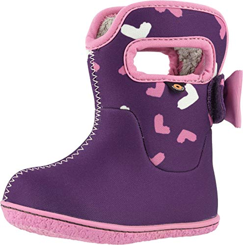 Bogs Kids Baby Girl's Baby Bogs Hearts (Toddler) Purple Multi 8 Toddler M