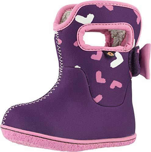 Bogs Kids Baby Girl's Baby Bogs Hearts (Toddler) Purple Multi 7 Toddler M