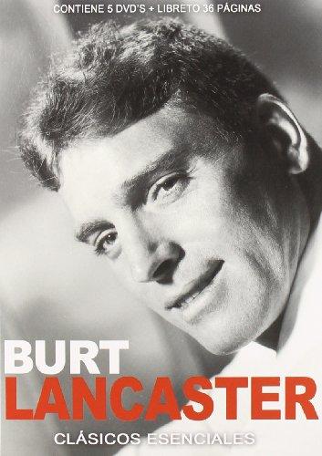 Pack: Burt Lancaster (Incluye 5 Películas) [DVD]