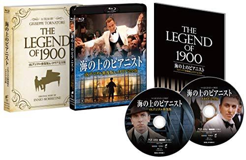 海の上のピアニスト 4Kデジタル修復版&イタリア完全版 [Blu-ray]