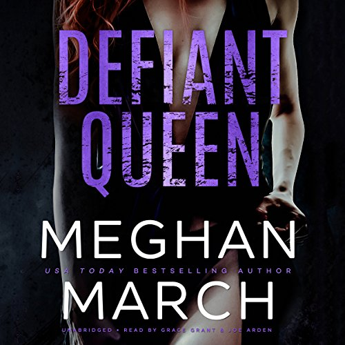 Defiant Queen audiobook cover art