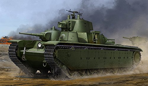 Hobby Boss 83844 – Modèle Kit Soviet T 35 Heavy Tank Late