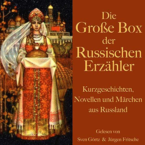 Die große Hörbuch Box der russischen Erzähler cover art