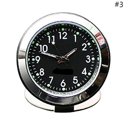 Auto Thermometer Hygrometer Klok A/C Vent Clip Parfum Refill Opslag Reservoir Quartz Horloge Styling