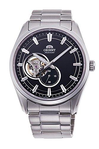 ORIENT Reloj mecánico clásico del zafiro de los pequeños segundos del corazón abierto RA-AR0002B