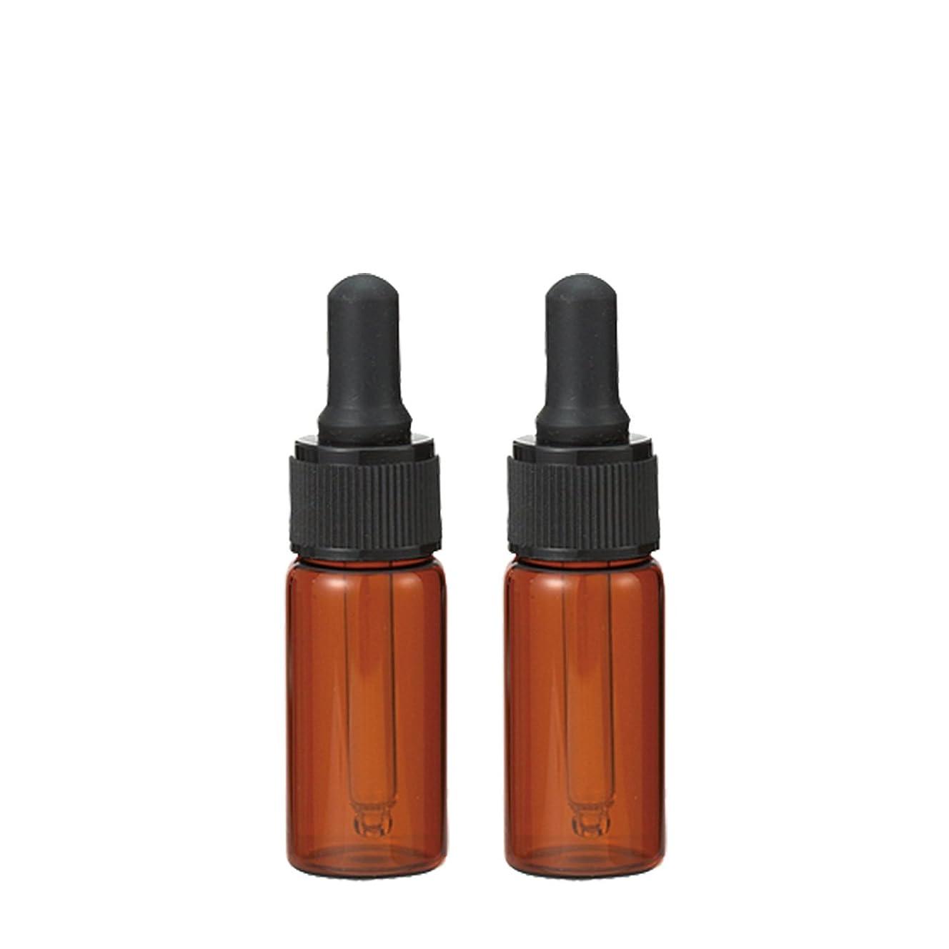 維持する壁紙投げる生活の木 茶色遮光スポイト瓶 10ml (2本セット)