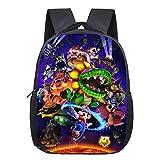 SL-YBB Mochila Sonic Super Mario, mochila escolar, gran capacidad, duradera (M-8,27 x 14 x 35 cm)