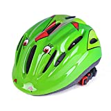 Tingxx Non-Integrated Riding Helmet Bicycle Child Helmet Skateboard Roller Skating Safety Protective Cap-Green