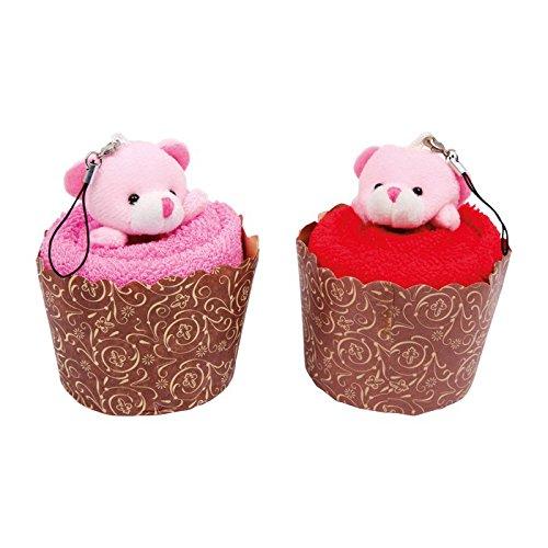 Legler 6545 – Serviette Muffins Ours, Lot de 2