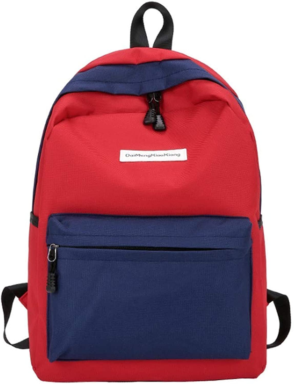 Schoolbag female color high school student canvas backpack super fire backpack