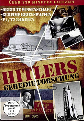 Hitlers geheime Forschung - Geheime Pläne und Waffen [2 DVDs]