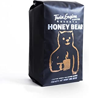 HONEY-BEAR | Black Edition - Dark Roast, Highest Rated Coffee - Limited Edition Whole Bean by Twin Engine Coffee