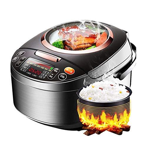 SMX Mini rijstkoker, saut, steamer, langzaam, rijst, yoghurt, micro-computerpaneel