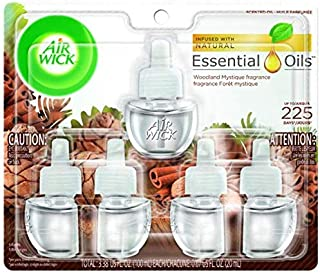 Air Wick Air Wick Scented Oil 5 Refills, Woodland Mystique, Air Freshener, 5 Count
