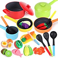 GILOBABY Kitchen Pretend Play Toys