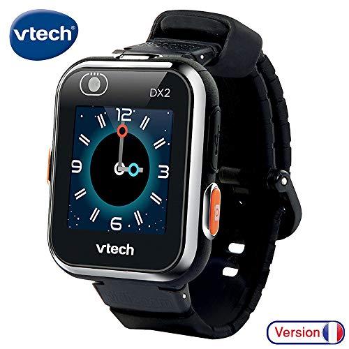 VTech 193865 Kidizoom Smartwatch Connect DX2 noire horloge, zwart, Norme