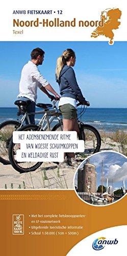 Radwanderkarte 12 Noord Holland noord,...