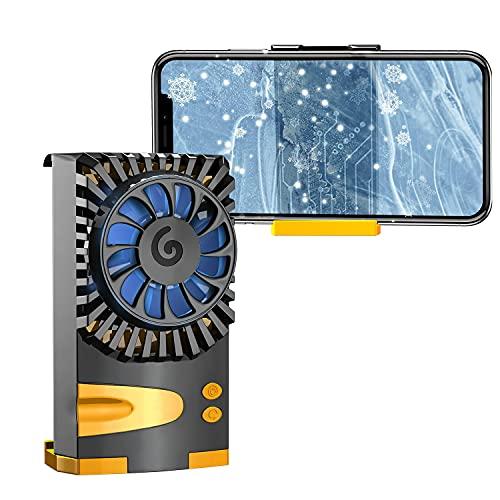 スマホ用 冷却ファン ペルチェ素子 スマホクーラー 原神 FGO 荒野行動 実況 スマホ冷却器 3秒急速冷却 静音小型 伸縮式クリップ 散熱効果抜群 三階段調整 自動開閉 iPhone/Xperia/Samsung/OS/Android等5-7.3インチ多機種対応(電源電圧:5V/2A及び以上)